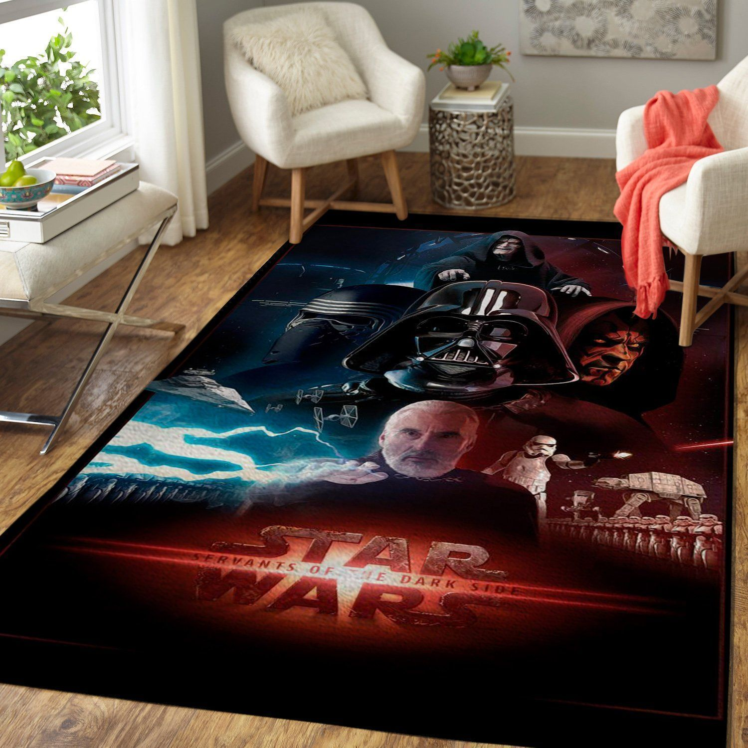 Star Wars Area Rugs /  Movie Living Room Carpet, Custom Floor Decor 19101933
