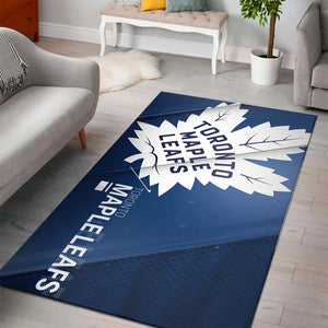 Toronto Maple Leafs Area Rugs NHL Hockey Living Room Carpet Team Logo Floor Home Decor 20022112
