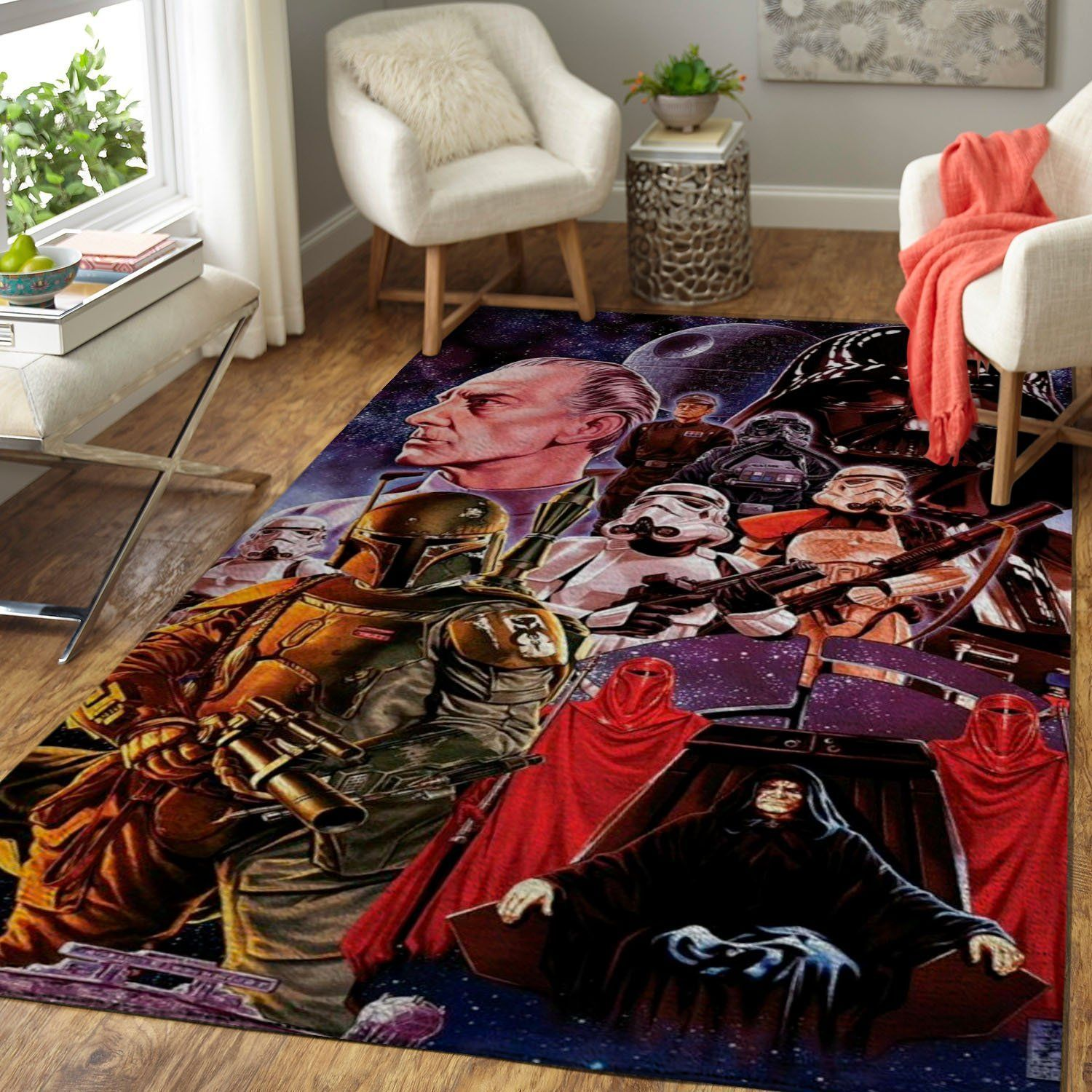 Star Wars Area Rugs, Movie Living Room Carpet, Custom Floor Decor