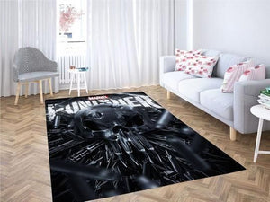 Punisher Area Rugs / Movie Living Room Carpet, Custom Floor Decor 3010192
