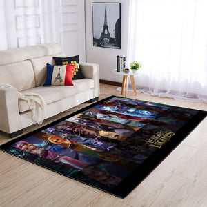League Of Legends Area Rug / Gaming Carpet, Gamer Living Room Rugs, Floor Decor 19091614