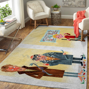 Home Alone Area Rugs / Christmas Movie Living Room Carpet, Custom Floor Decor