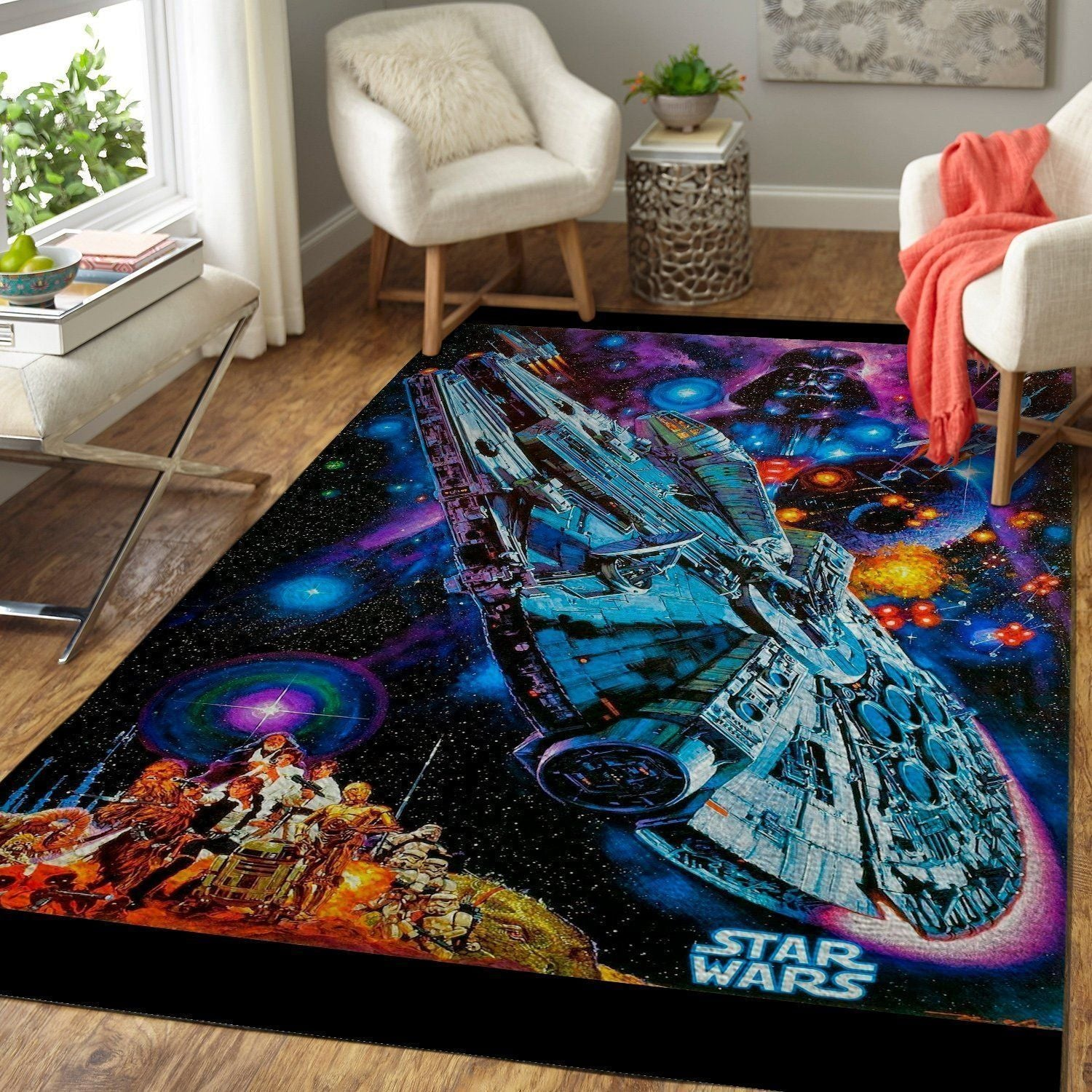 Star Wars Area Rugs, Movie Living Room Carpet, Custom Floor Decor 19101932