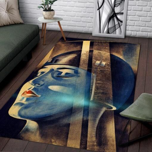Metropolis Area Rugs / Movie Living Room Carpet, Custom Floor Decor 021137