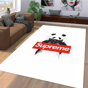 Supreme Area Rug Hypebeast Carpet, Luxurious Fashion Brand Logo Living Room  Rugs, Floor Decor 16116