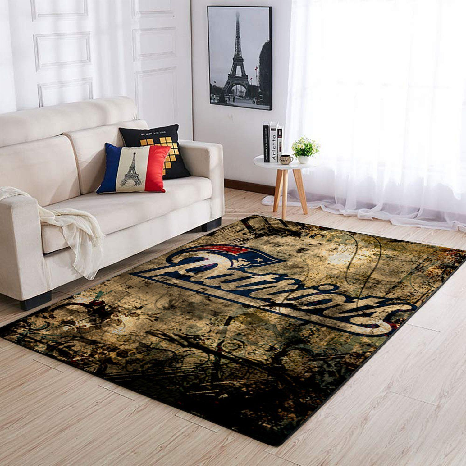 New England Patriots Area Rugs NFL Football Living Room Carpet Team Logo Custom Floor Home Decor 191007