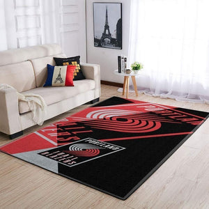Portland Trail Blazers Area Rug, NBA Basketball Team Logo Carpet, Living Room Rugs Floor Decor 200327