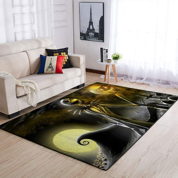 Jack Skellington- The Nightmare Before Christmas -  Movie Area Rugs Living Room Carpet, Custom Floor Decor