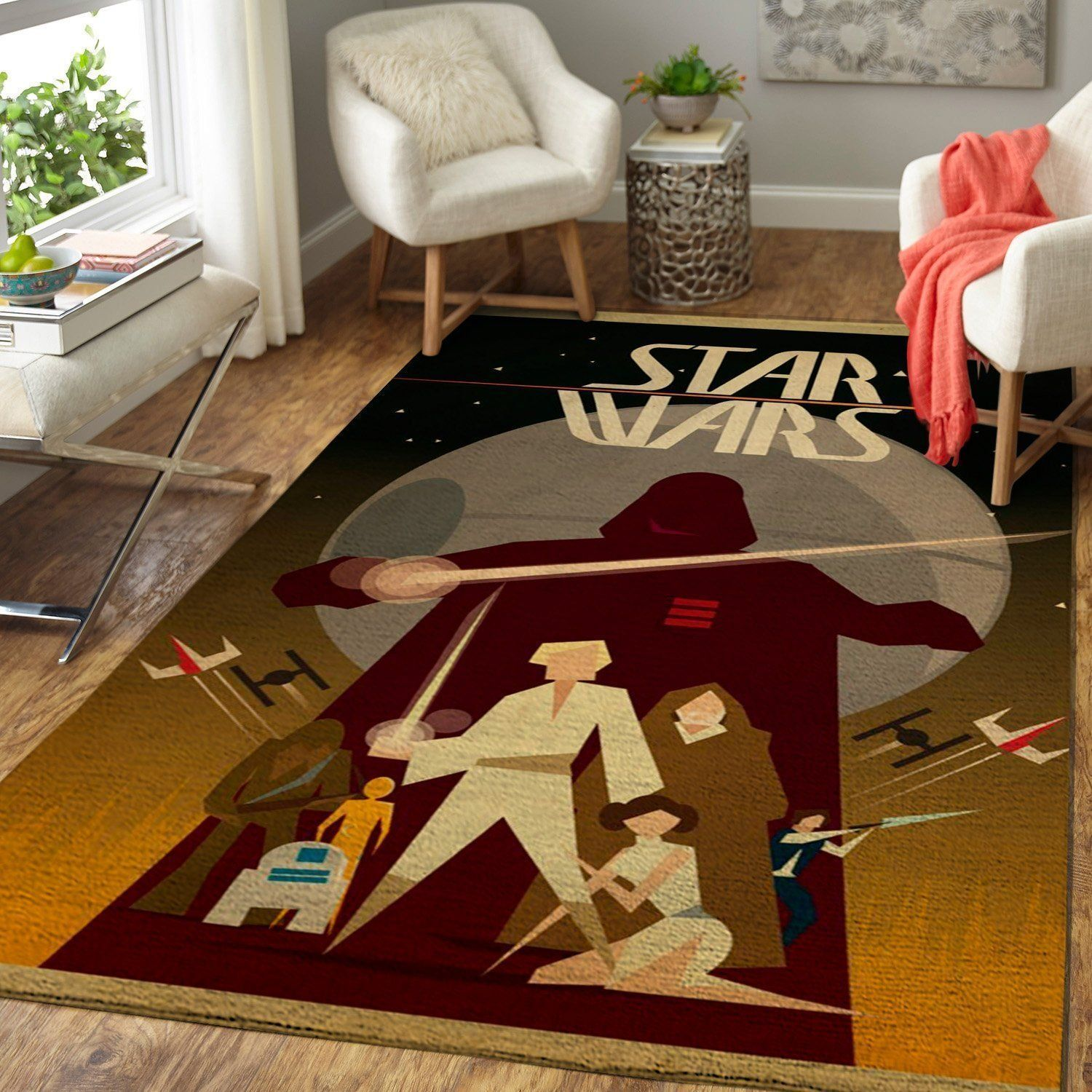 Star Wars Area Rugs, Movie Living Room Carpet, Custom Floor Decor 19101918