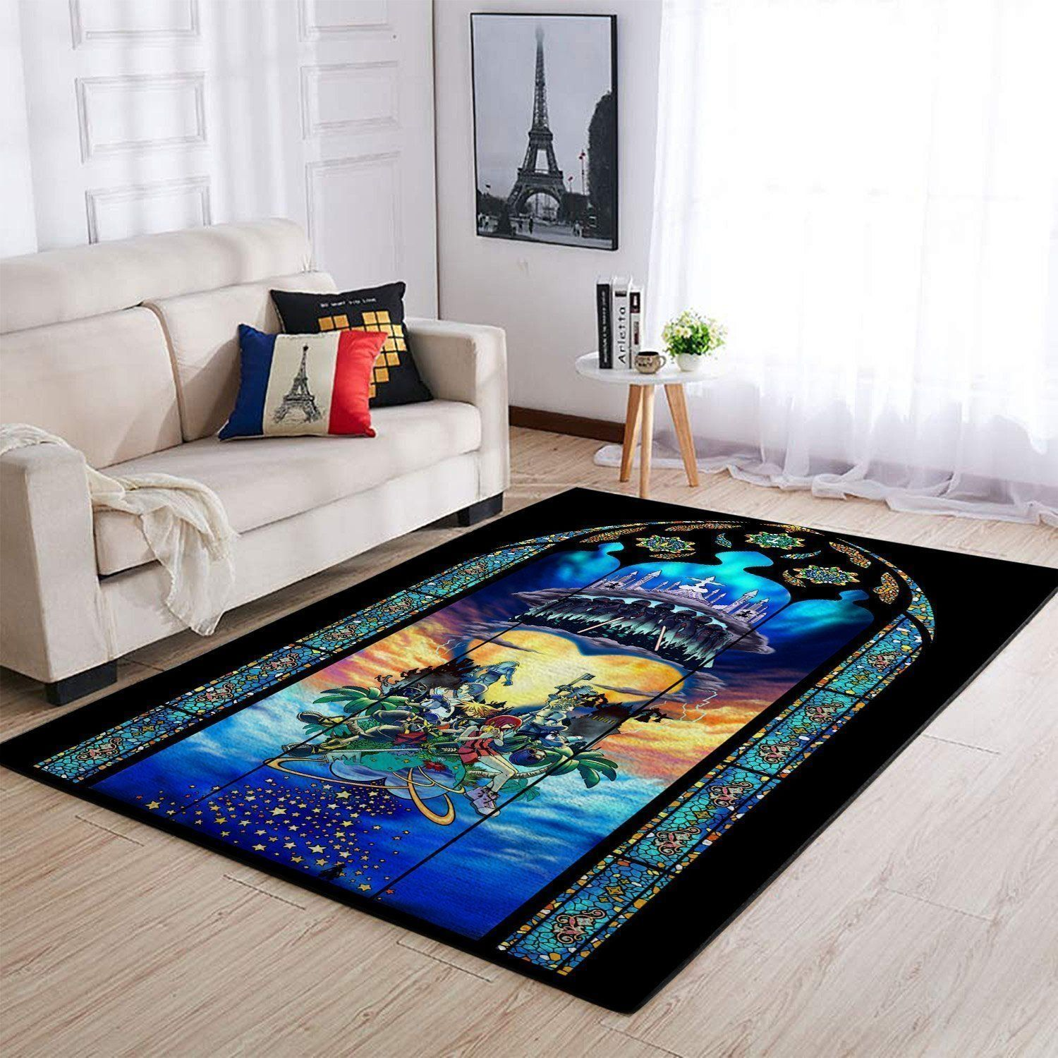 Kingdom Hearts Area Rug / Gaming Carpet, Gamer Living Room Rugs, Floor Decor 19091608