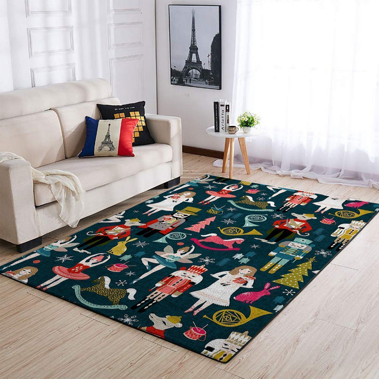 Nutcracker Area Rugs, Movie Living Room Carpet, Custom Floor Decor