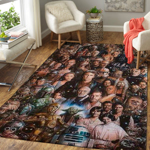 Star Wars Area Rugs, Movie Living Room Carpet, Custom Floor Decor 7