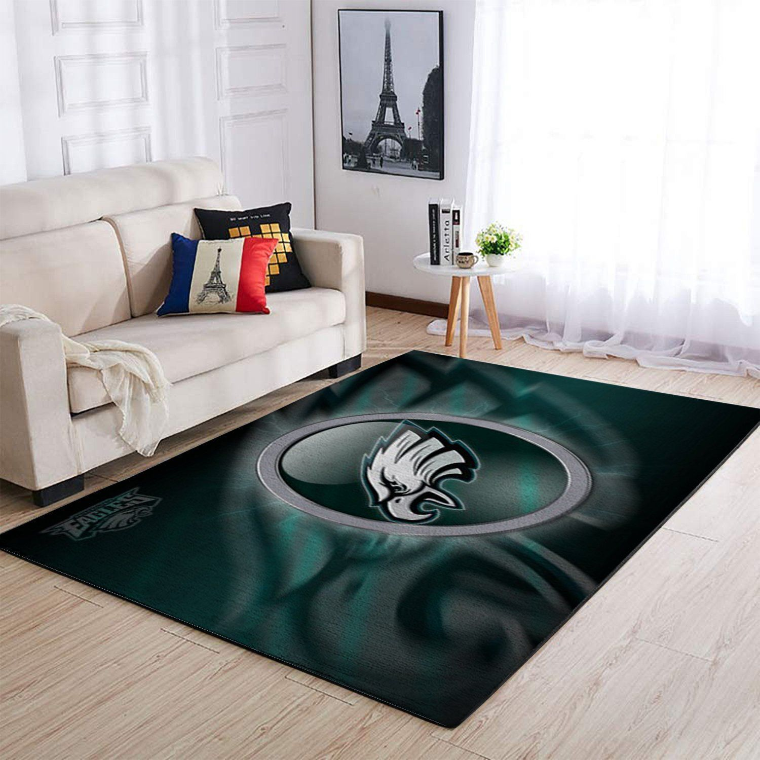 Philadelphia Eagles Area Rugs NFL Football Living Room Carpet Team Logo Custom Floor Home Decor 191007