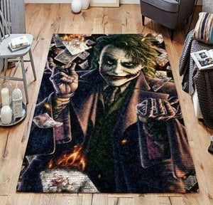 Joker Area Rugs / Movie Living Room Carpet, Custom Floor Decor 07117