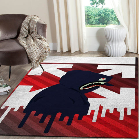 BAPE Area Rug Hypebeast Carpet, Luxurious Fashion Brand Logo Living Room  Rugs, Floor Decor 1912052