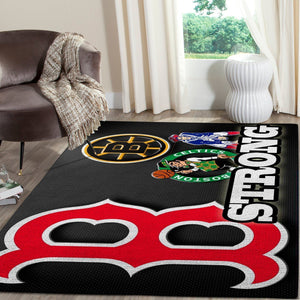 Boston Sports Area Rug, Living Room Rugs, Custom Carpet Floor Decor 191225