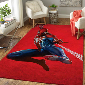 Marvel Superhero Spiderman Area Rugs / Movie Living Room Carpet, Custom Floor Decor 03112