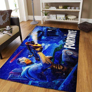 Fortnite Area Rug Video Game Carpet, Gamer Living Room Rugs, Floor Decor 19091102