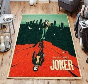 Joker Area Rugs / Movie Living Room Carpet, Custom Floor Decor 071111