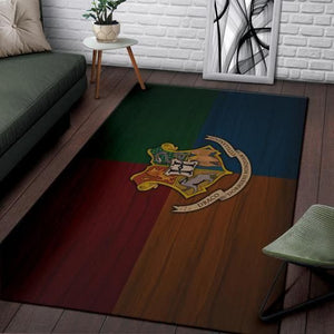 Harry Potter Hogwarts Area Rugs, Movie Living Room Carpet, Custom Floor Decor HP010