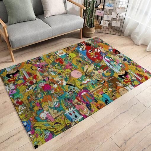 Regular Show Area Rugs, Movie Living Room Carpet, Custom Floor Decor 021148