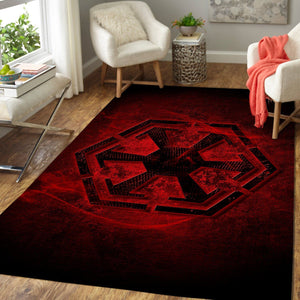 Star Wars Area Rugs - Sith Empire Logo / Movie Living Room Carpet, Custom Floor Decor 23