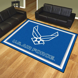 U.S. Air Force Area Rugs - Football Team Logo Carpet, Living Room Rugs Floor Home Decor AF2610