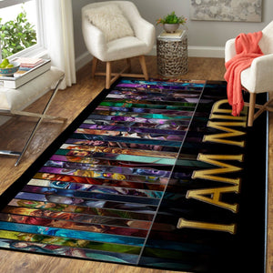 League Of Legends LOL Area Rug, Gaming Carpet, Gamer Living Room Rugs, Floor Decor 19091611