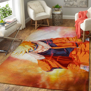 Naruto Area Rugs, Anime, Manga Living Room Carpet, Custom Floor Decor 3