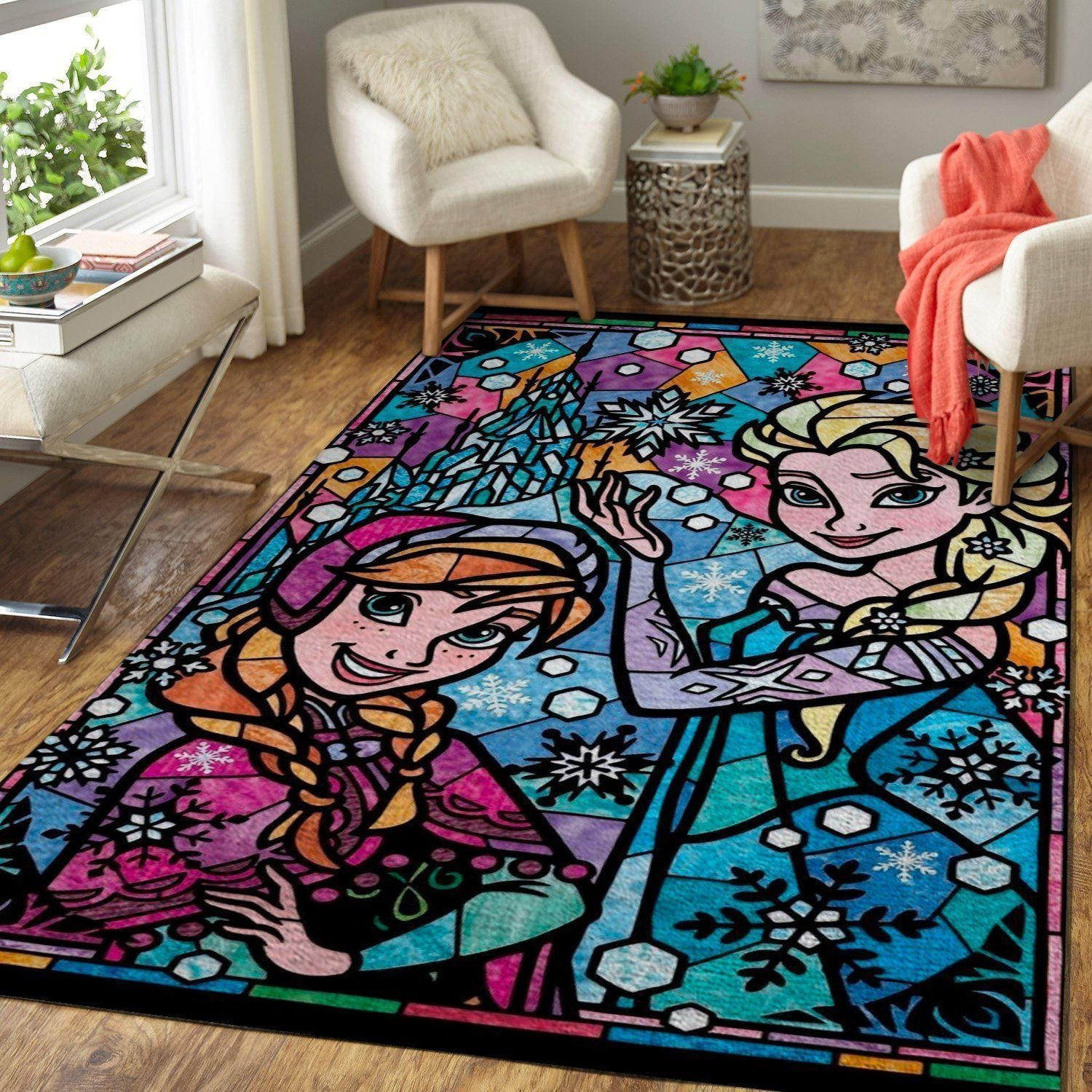 Elsa & Anna - Frozen, Disney Princess Area Rugs 19102120