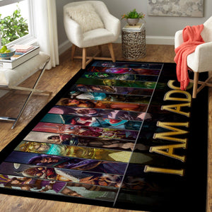 League Of Legends LOL Area Rug, Gaming Carpet, Gamer Living Room Rugs, Floor Decor 19091610