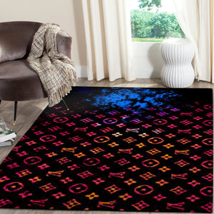 Louis Vuitton Area Rug Hypebeast Carpet, Luxurious Fashion Brand Logo Living Room  Rugs, Floor Decor 08113