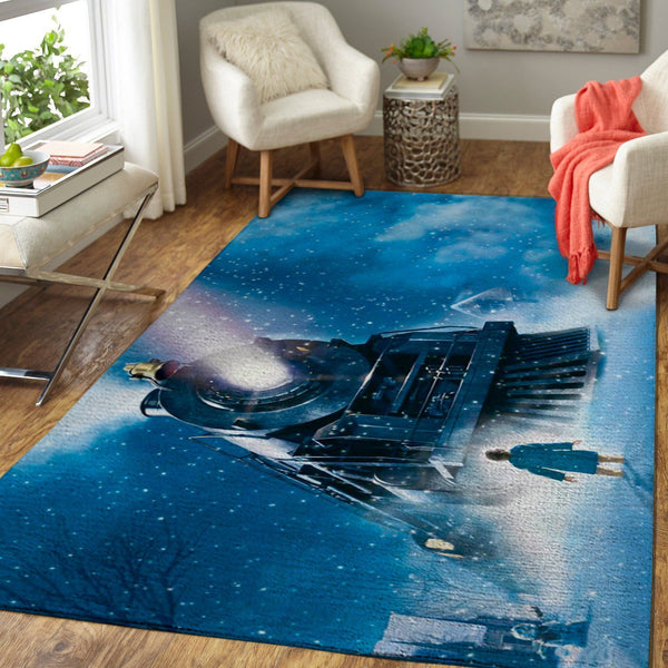 Christmas The Polar Express Area Rugs / Movie Living Room Carpet, Custom Floor Decor 6