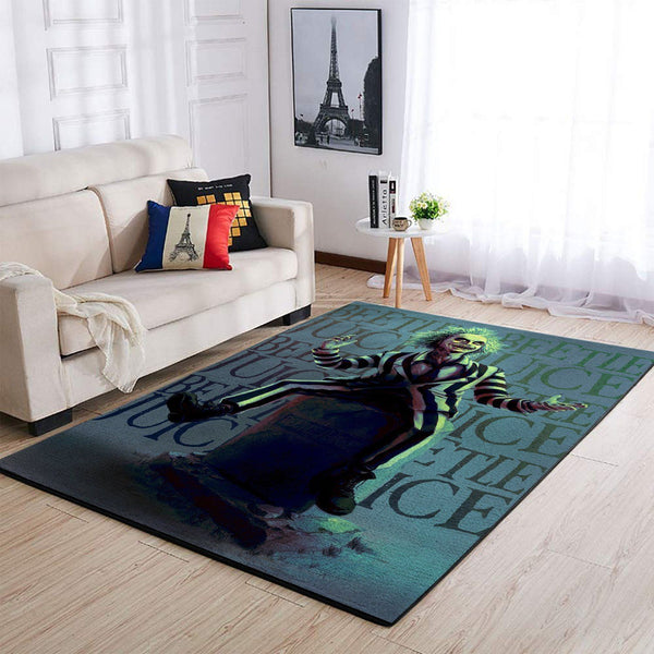 Beetlejuice Area Rugs / Movie Living Room Carpet, Custom Floor Decor 6
