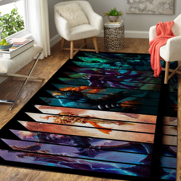 League Of Legends LOL Area Rug / Gaming Carpet, Gamer Living Room Rugs, Floor Decor 19091607