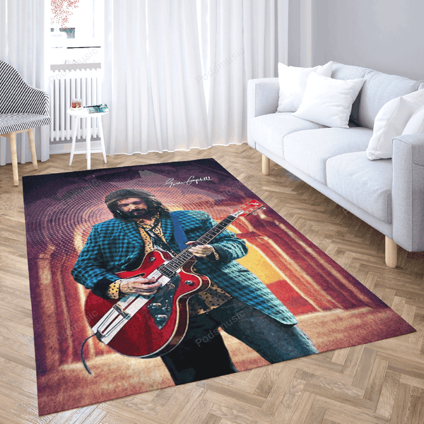 Mike Campbell - Music Art For Fans Area Rug Living Room Carpet Floor Decor
