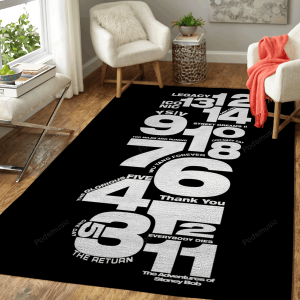Young Sinatra IV - Music Art For Fans Area Rug Living Room Carpet Floor Decor