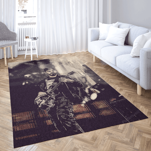 LinkinPark 38 - Music Art For Fans Area Rug Living Room Carpet Floor Decor