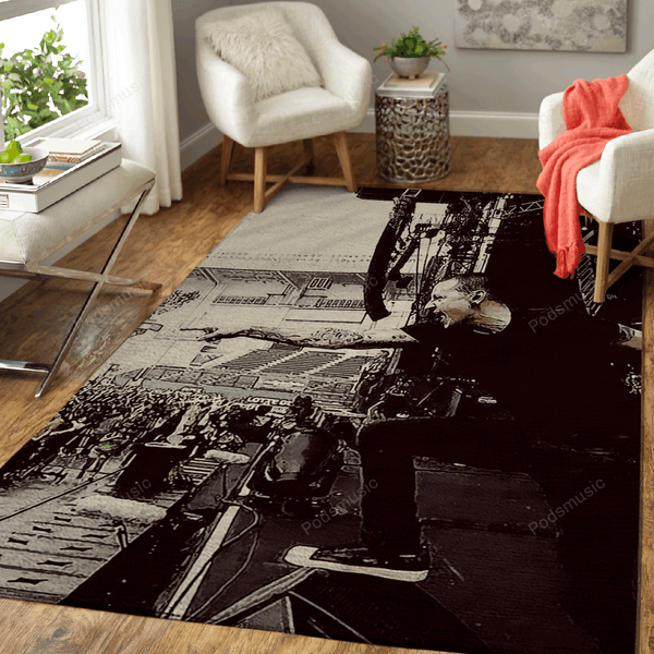 LinkinPark 30 - Music Art For Fans Area Rug Living Room Carpet Floor Decor