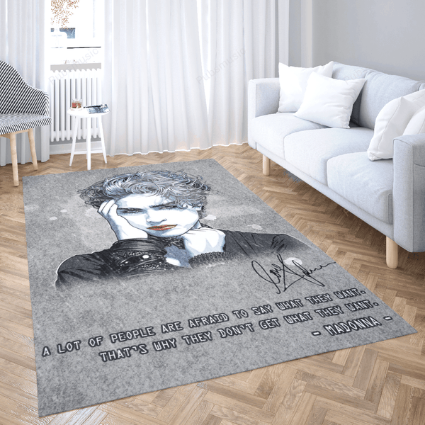 Madonna Artwork - Pop Music Collection Art For Fans Area Rug Living Room Carpet Floor Decor