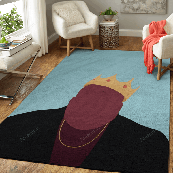 Notorious BIG - List Music Art For Fans Area Rug Living Room Carpet Floor Decor