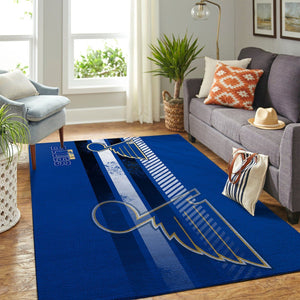 St. Louis Blues NHL Area Rugs Living Room Carpet Team Logo Sports Floor Decor