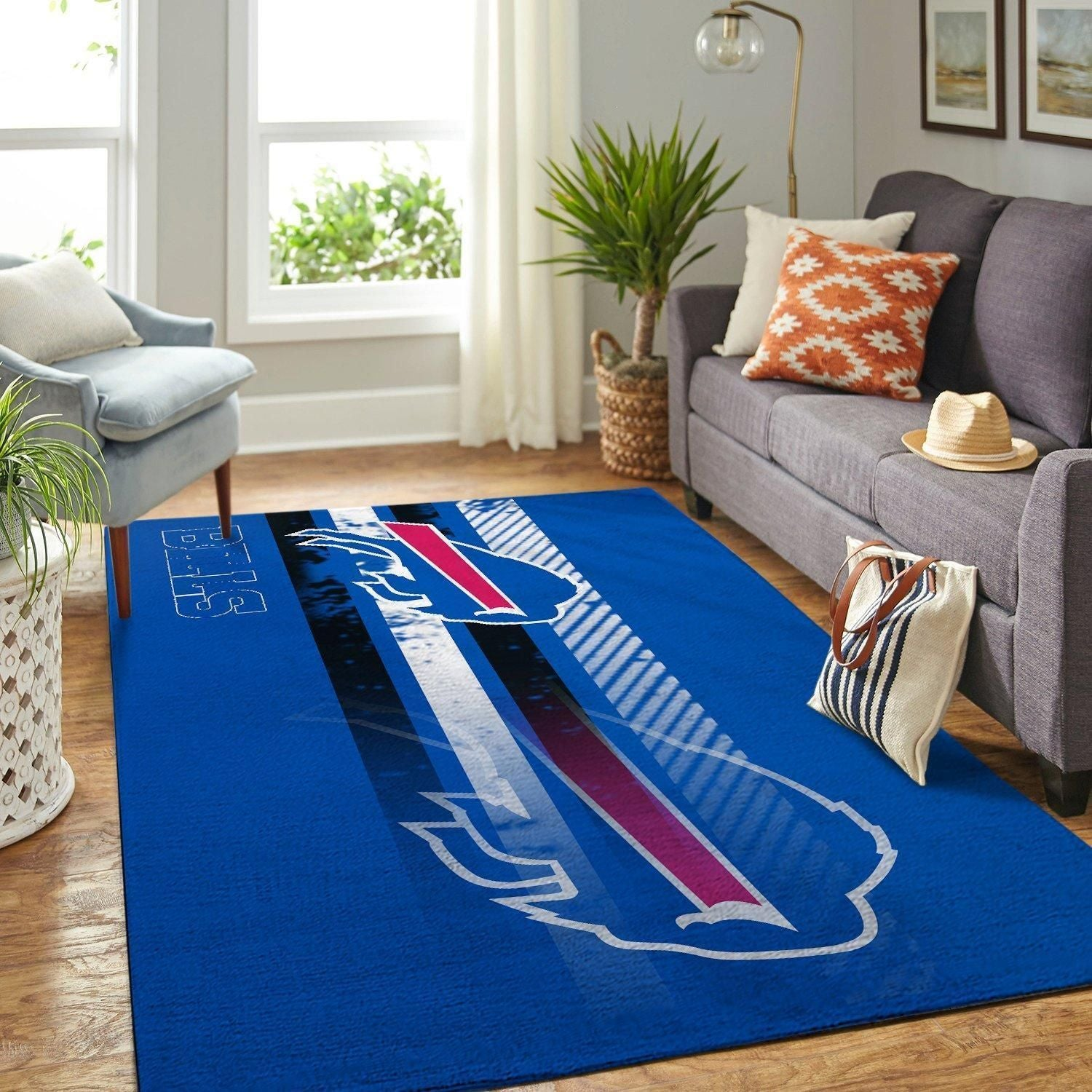 Buffalo Bills Area Rugs NFL Football Team Living Room Carpet Carpet Sport Custom Area Floor Home Decor