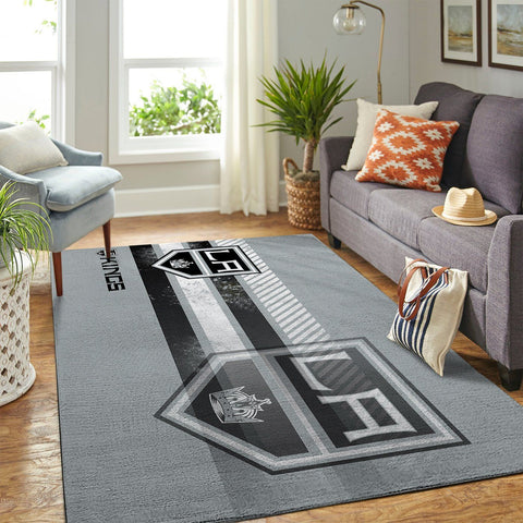 Los Angeles Kings NHL Area Rugs New Style Living Room Carpet Team Logo Sports Floor Decor