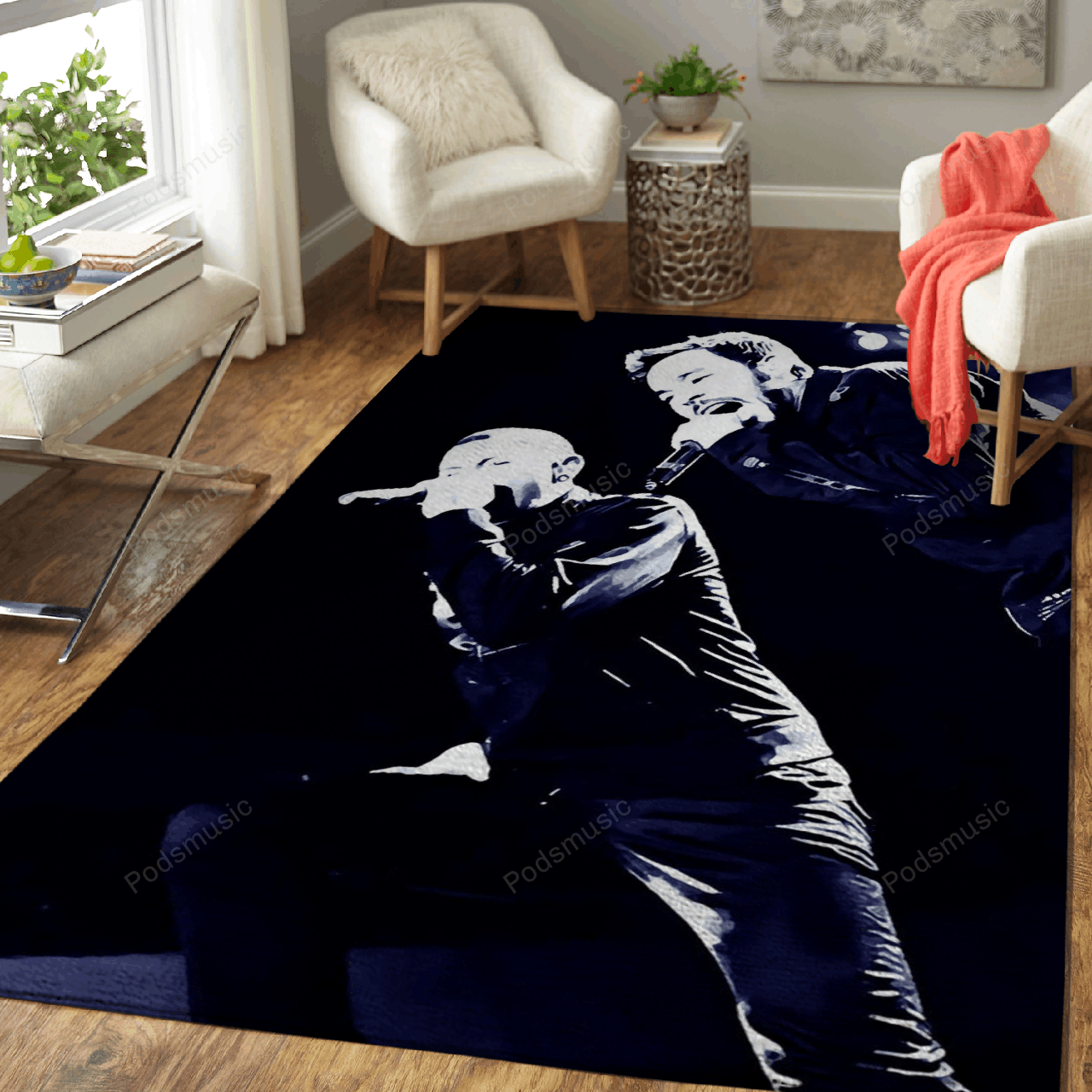 Linkin Park 372 - Music Art For Fans Area Rug Living Room Carpet Floor Decor
