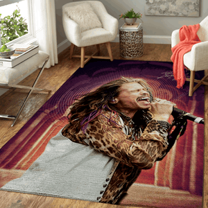 Steven Tyler - Music PopArt For Fans Area Rug Living Room Carpet Floor Decor