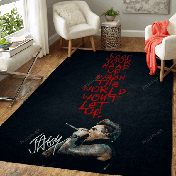 Music Jacoby Shaddix Rock - Music Legends Art For Fans Area Rug Living Room Carpet Floor Decor