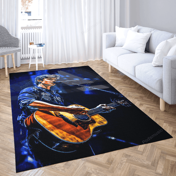 Shawnmendes 3 - Music Art For Fans Area Rug Living Room Carpet Floor Decor