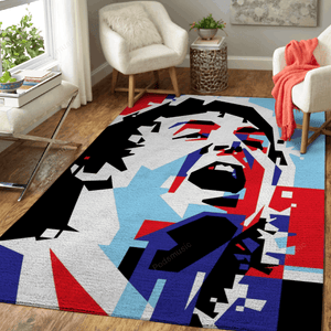 Paul McCartney in WPAP - Music Art For Fans Area Rug Living Room Carpet Floor Decor