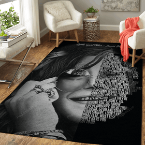 Little Girl Blue - Music Legend Art For Fans Area Rug Living Room Carpet Floor Decor